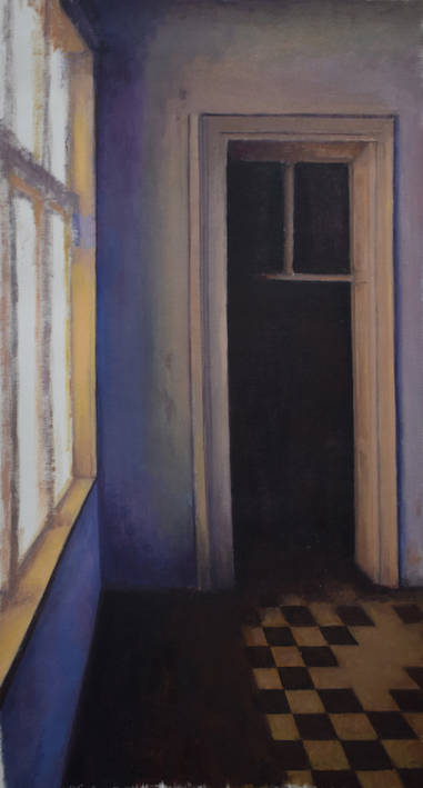 Untitled (Hallway with window)