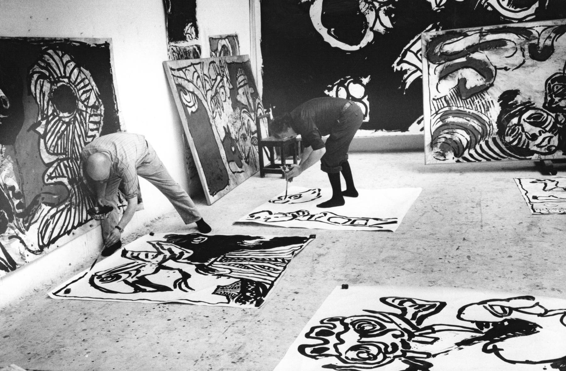 Galerie Lelong Appel Alechinsky