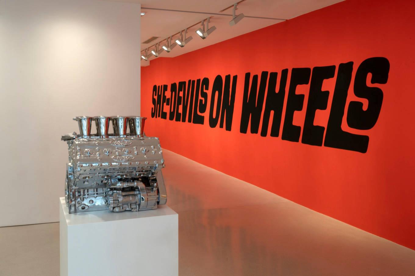 Galerie Thaddaeus Ropac Marais Sylvie Fleury 3
