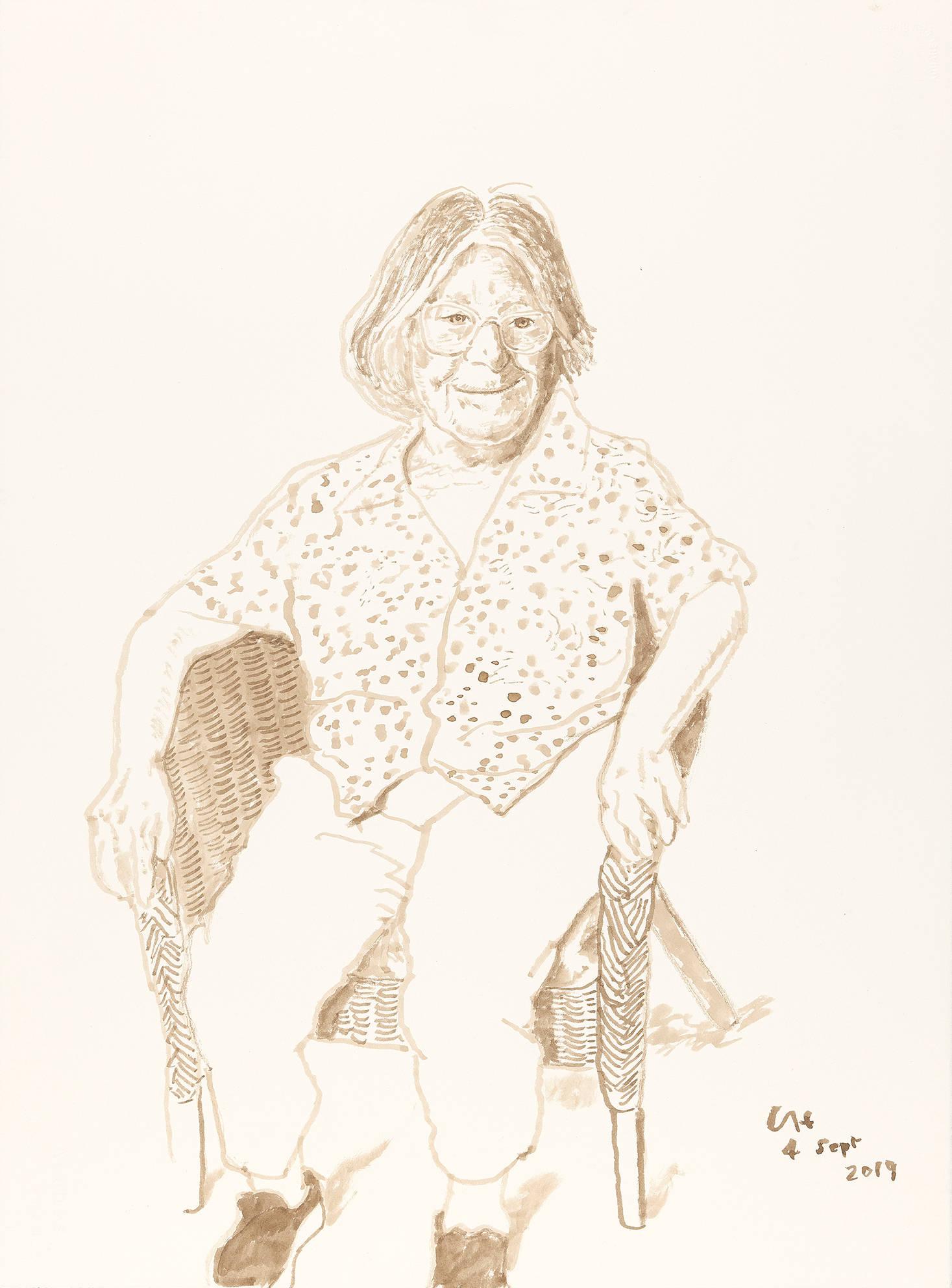Margaret Hockney, 4 Sept 2019