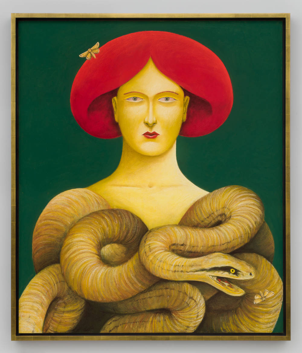 Portrait with Snakes