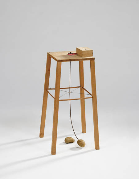 Potato Machine - Apparatus Whereby One Potato Can Orbit Another