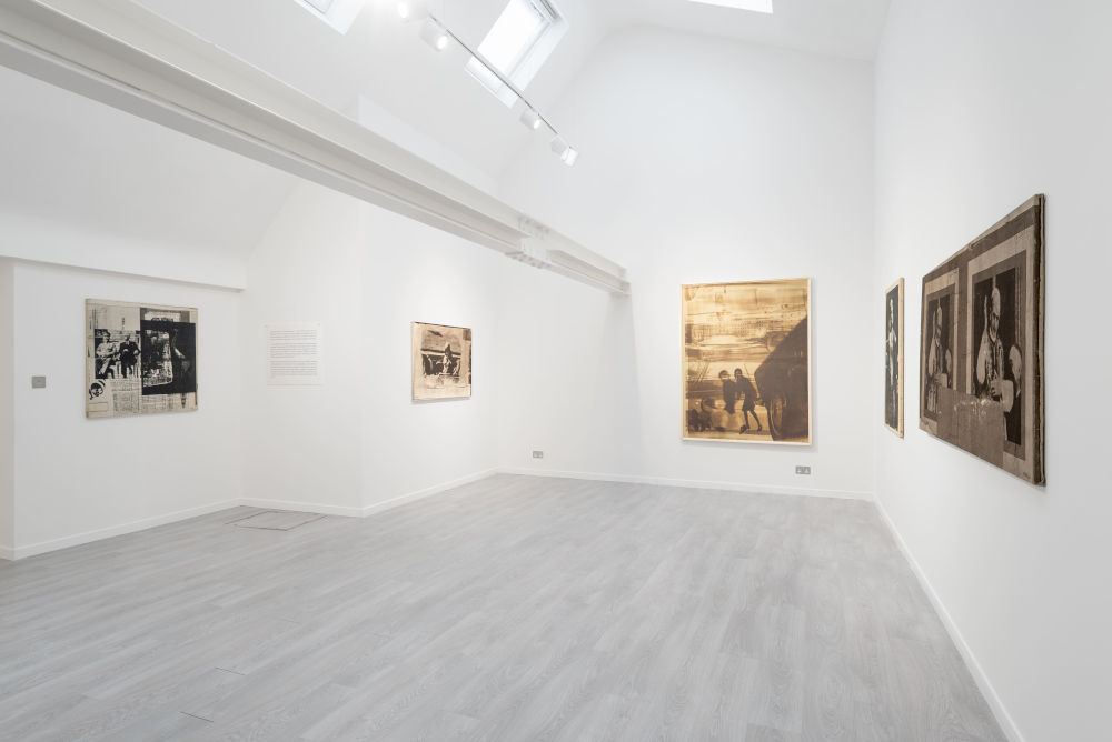 Cardi Gallery London Mimmo Rotella 2