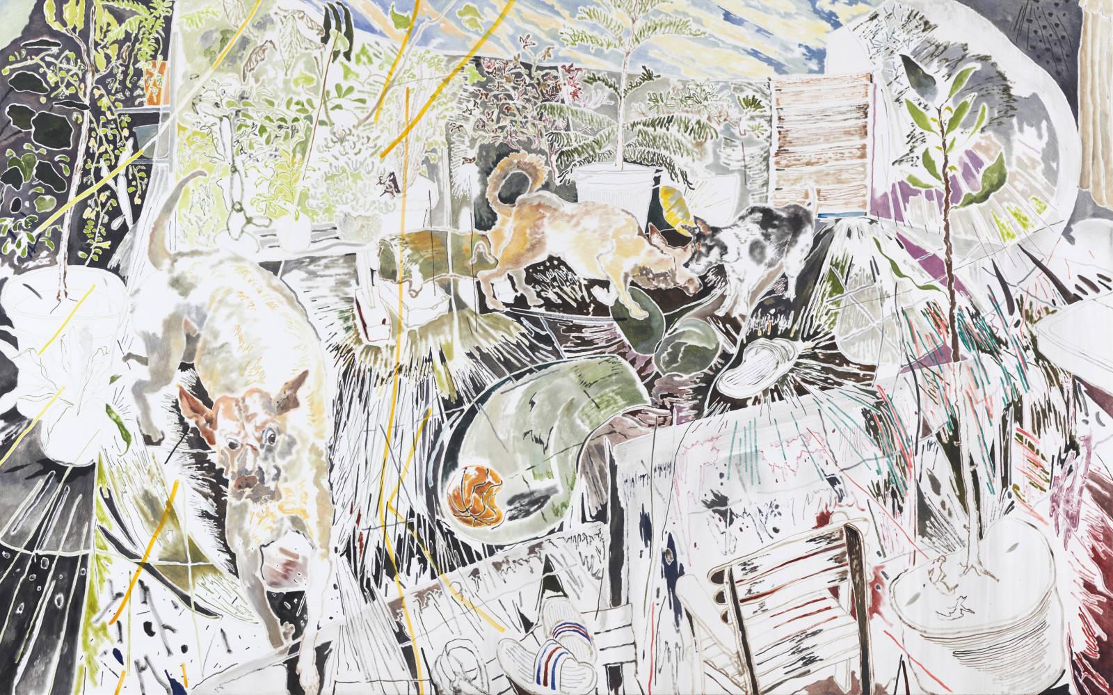 Chris Huen Sin Kan: Puzzled Daydreams at Simon Lee Gallery