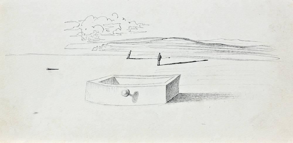 Paysage (Illustration Pour Sécheresses)
