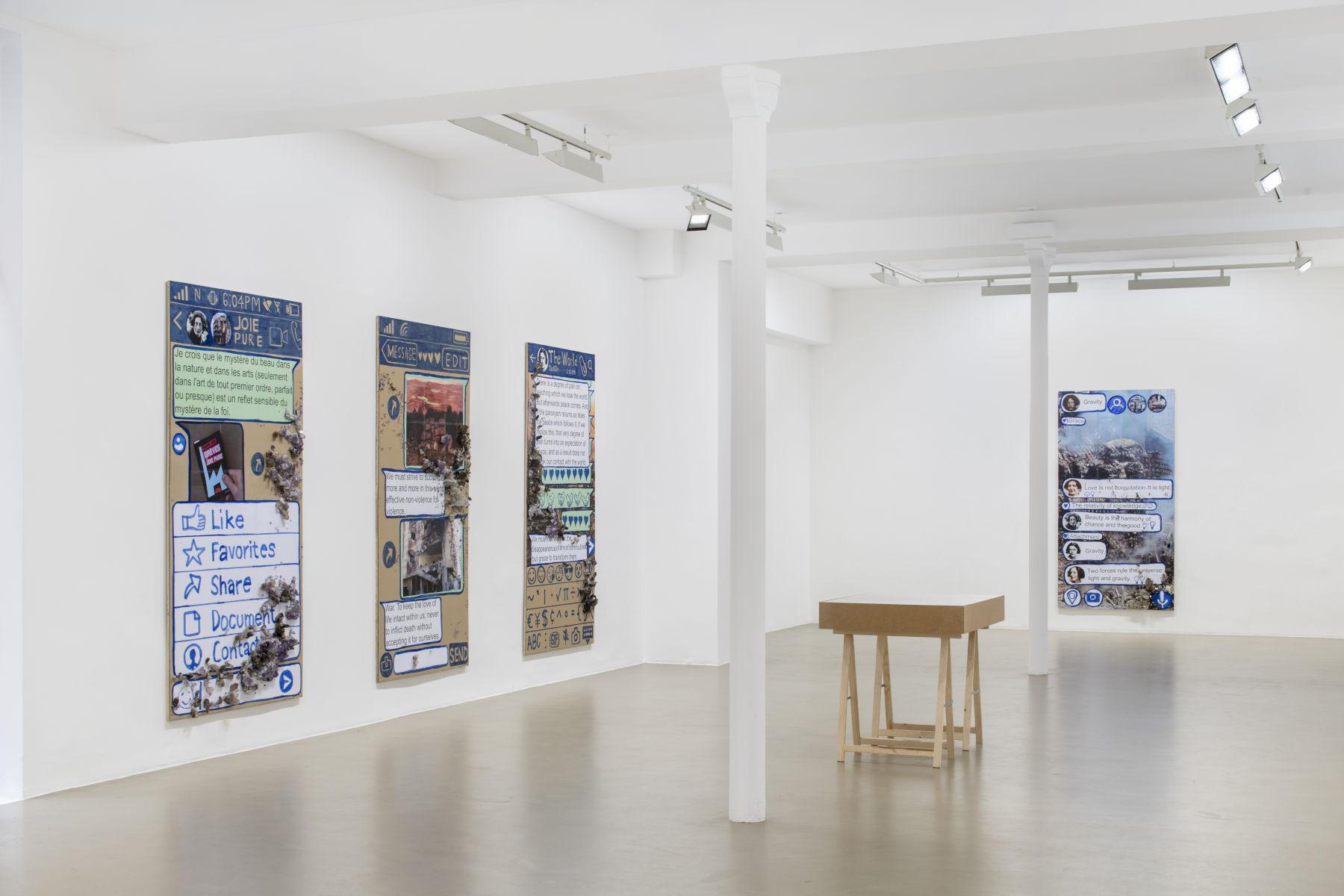 Galerie Chantal Crousel Thomas Hirschhorn 1