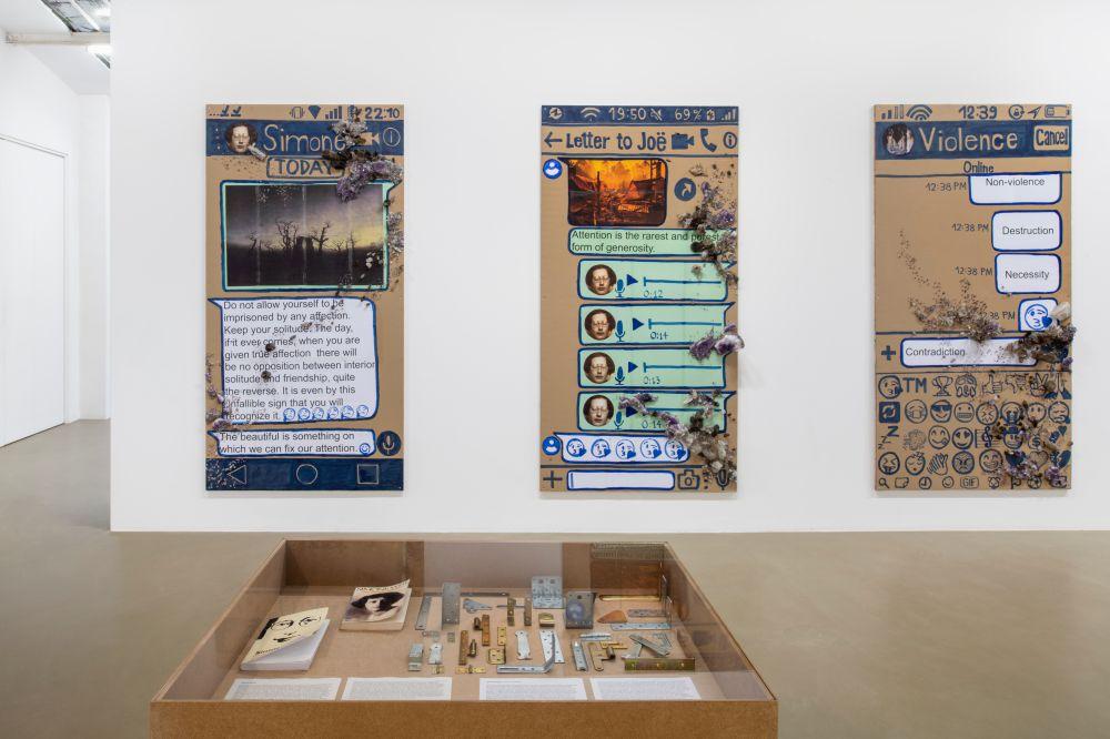 Galerie Chantal Crousel Thomas Hirschhorn 2