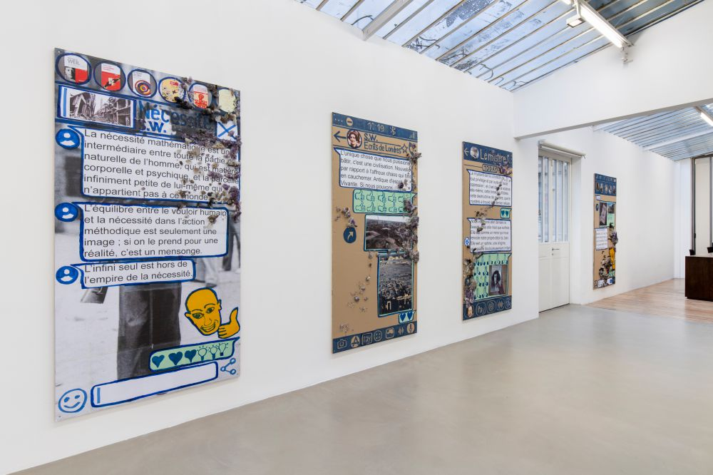 Galerie Chantal Crousel Thomas Hirschhorn 4