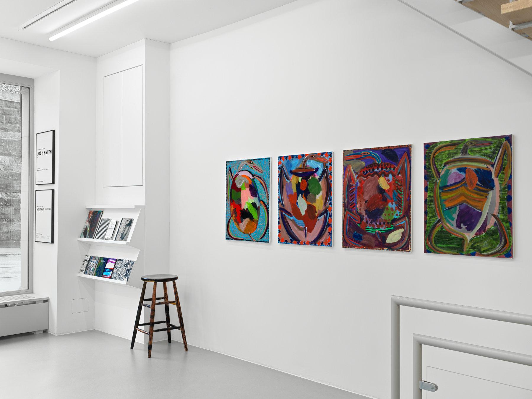 Galerie Eva Presenhuber Josh Smith 1