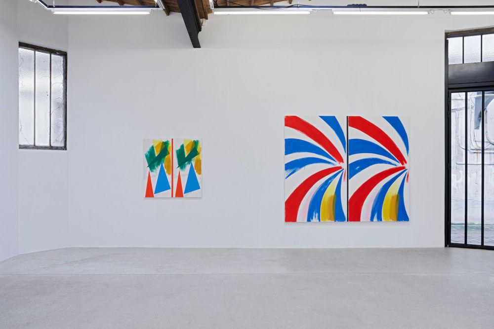 Galerie Frank Elbaz Bernard Piffaretti 2
