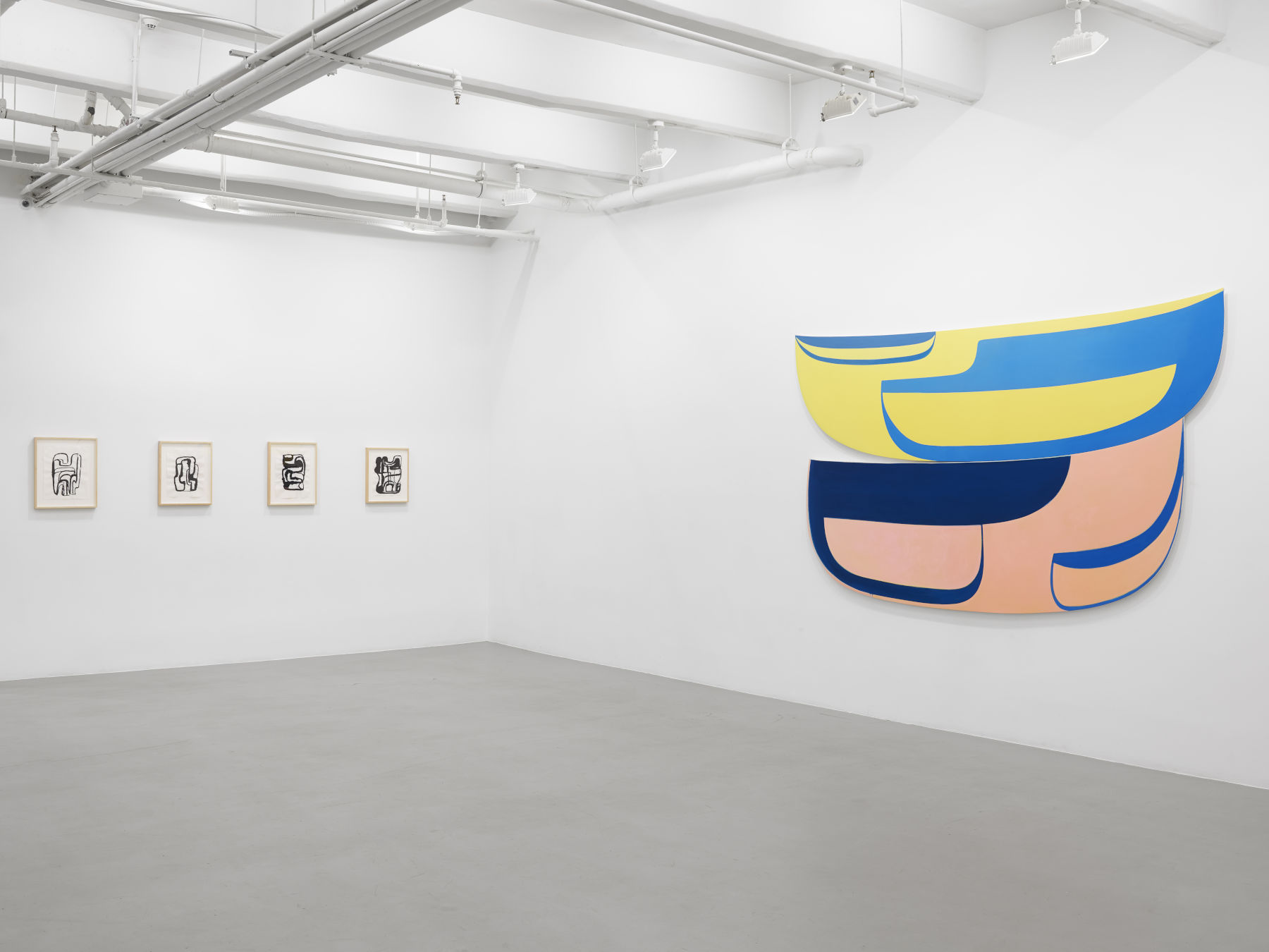 Lisson Gallery 10th Ave Joanna Pousette-Dart 1