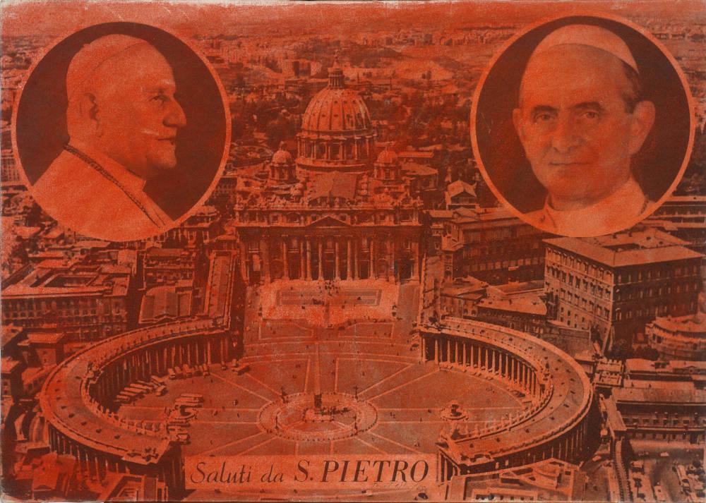 Saluti da S. Pietro