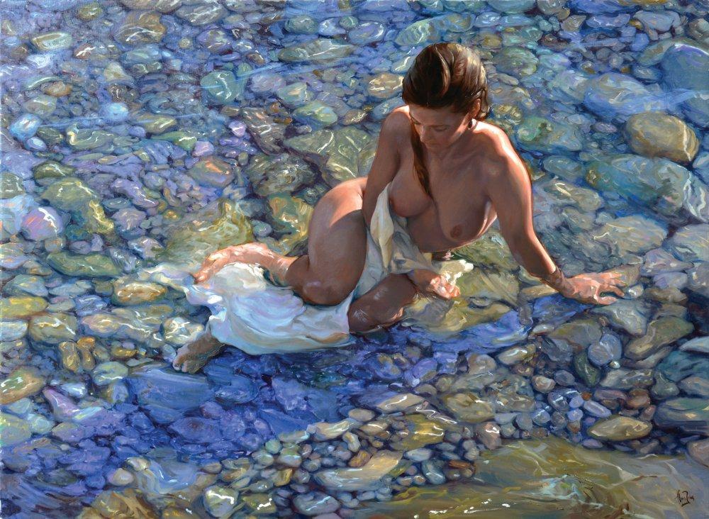 Xell entre las Piedras del Mar