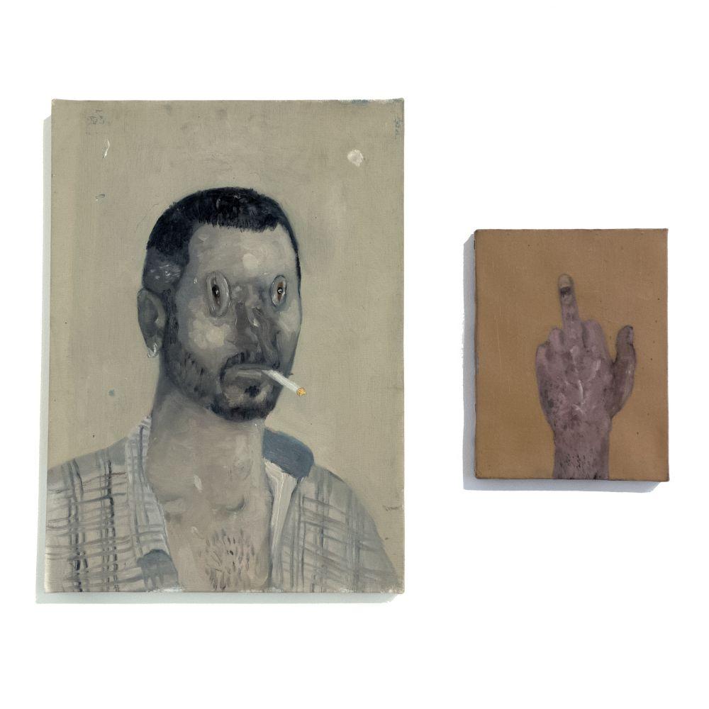 Untitled (Self-Portrait) & Untitled