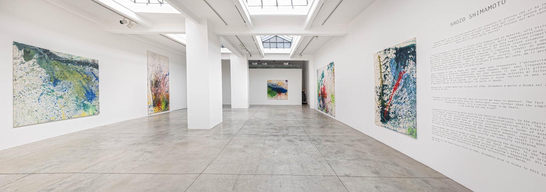 Cardi Gallery Milan Shozo Shimamoto 1