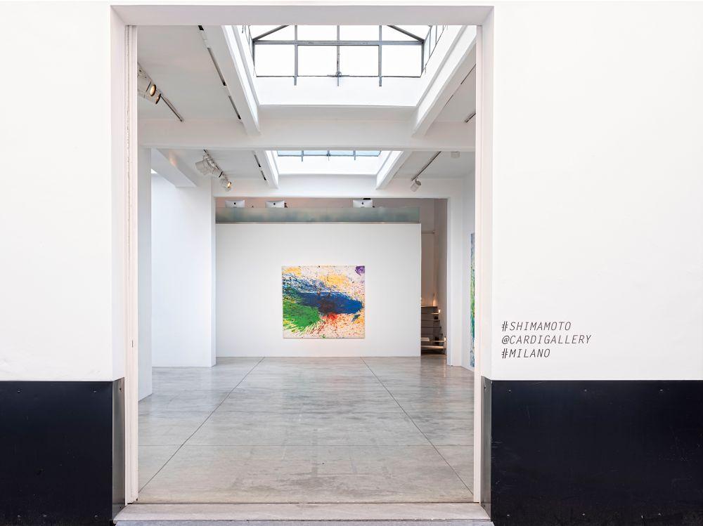 Cardi Gallery Milan Shozo Shimamoto 12