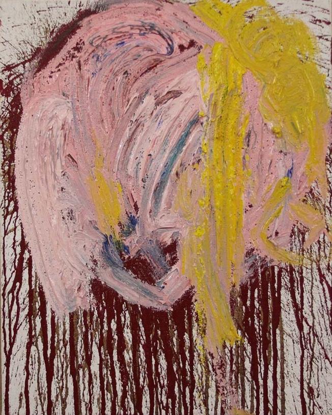 no title, split painting