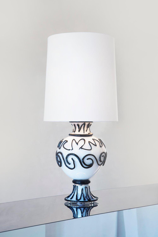 Table Lamp 'Greek (Black)'