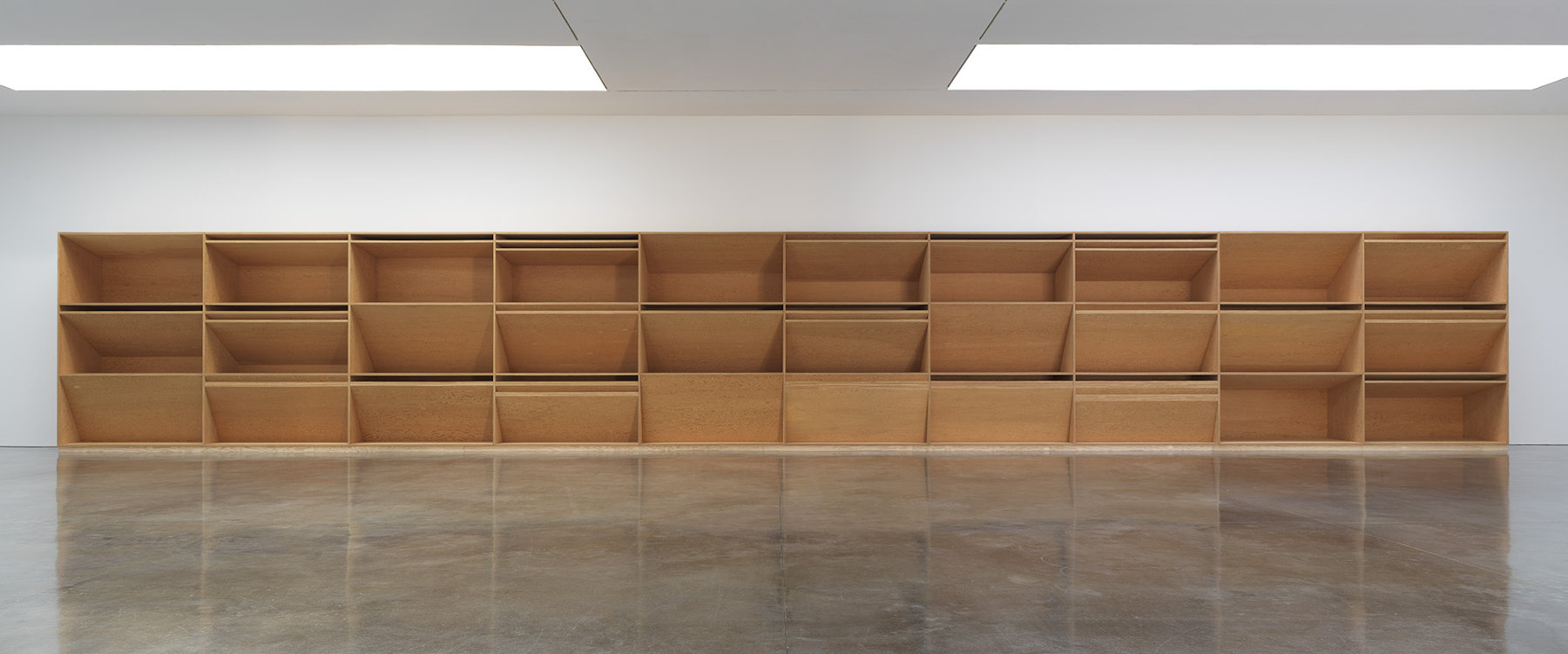 Gagosian West 21st Donald Judd 1