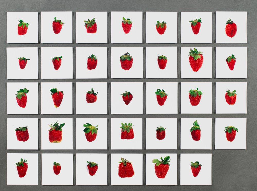 One pound of strawberries
