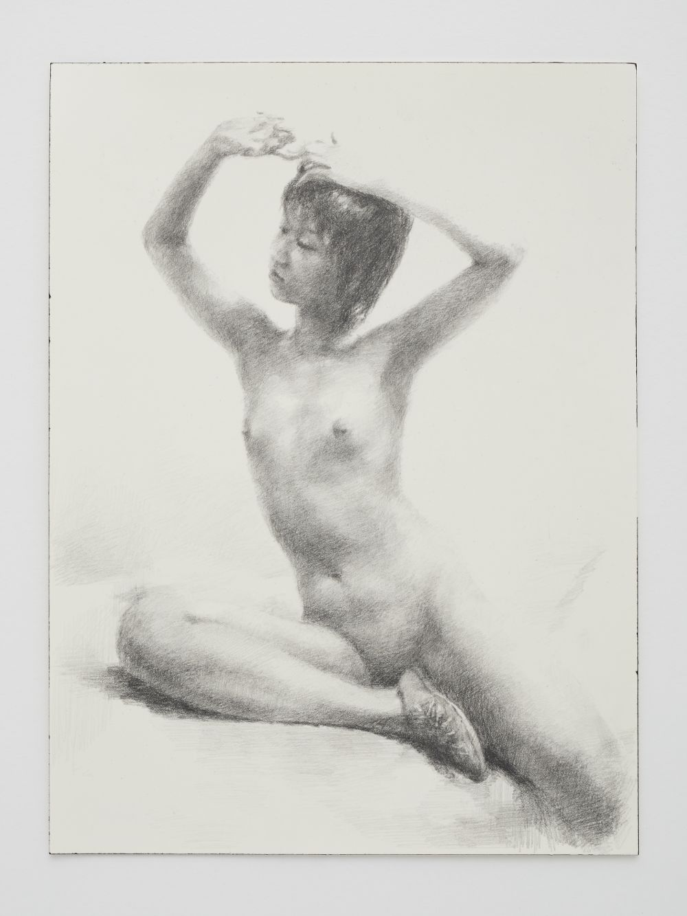 Nude with Raised Arms
