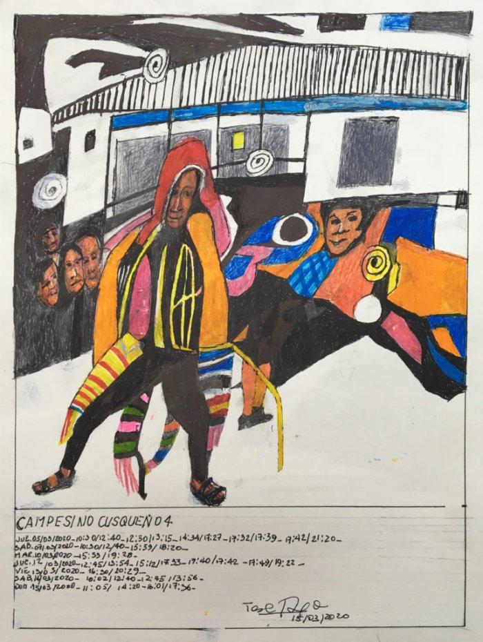 Campesino Cusqueño 4 Fecha: 15 marzo 2020 (From the series: Campesino Cusqueño)