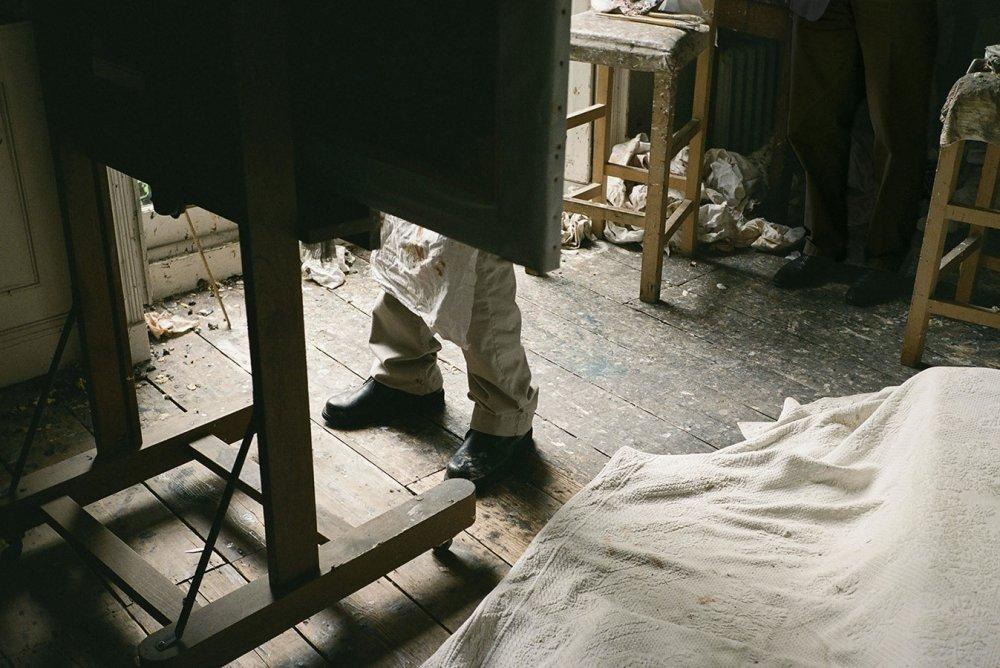 The Painter's Feet