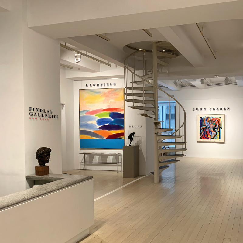 Summer Survey - A collection of Contemporaries @Findlay Galleries, New York  - GalleriesNow.net