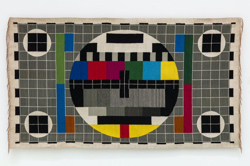 No Signal (Test Pattern Tapestry 4)