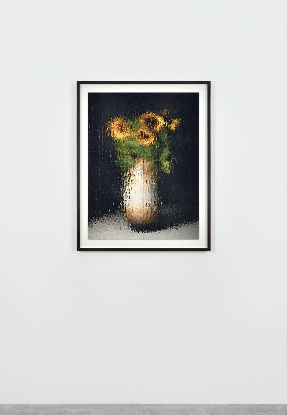 """""""Bodenvase mit Sonnenblumen"""""""