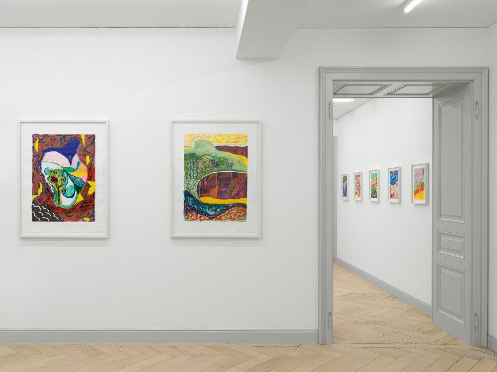 Galerie Eva Presenhuber Ramistrasse Shara Hughes 4