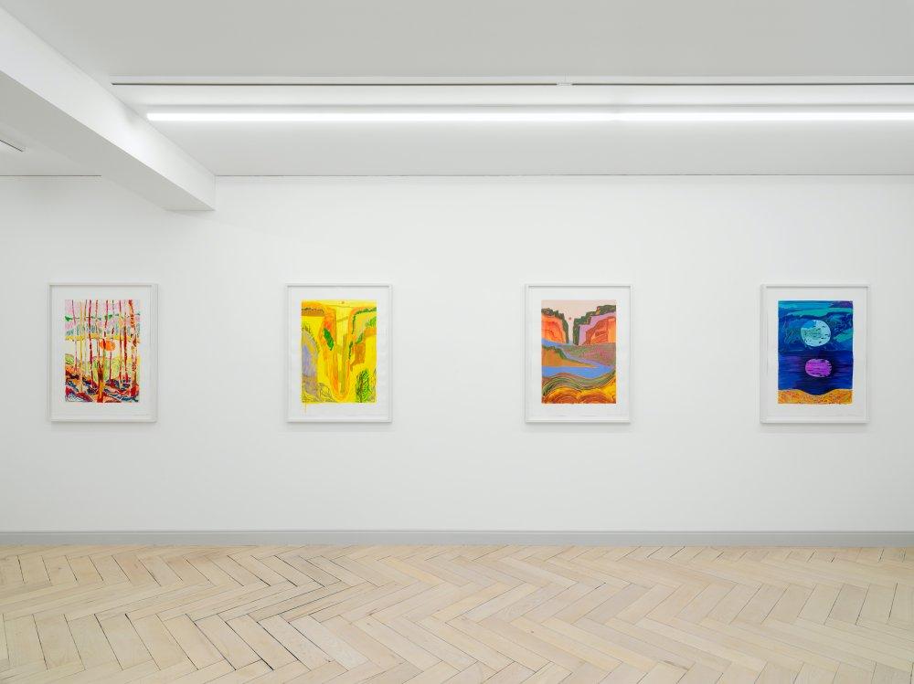 Galerie Eva Presenhuber Ramistrasse Shara Hughes 7