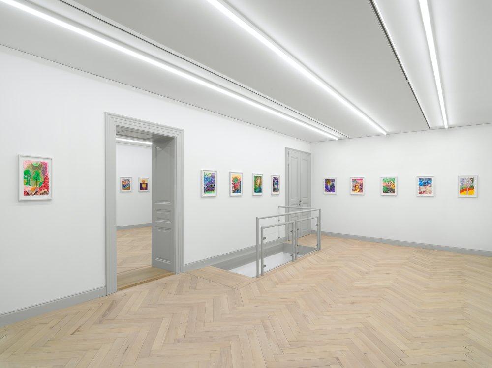 Galerie Eva Presenhuber Ramistrasse Shara Hughes 8
