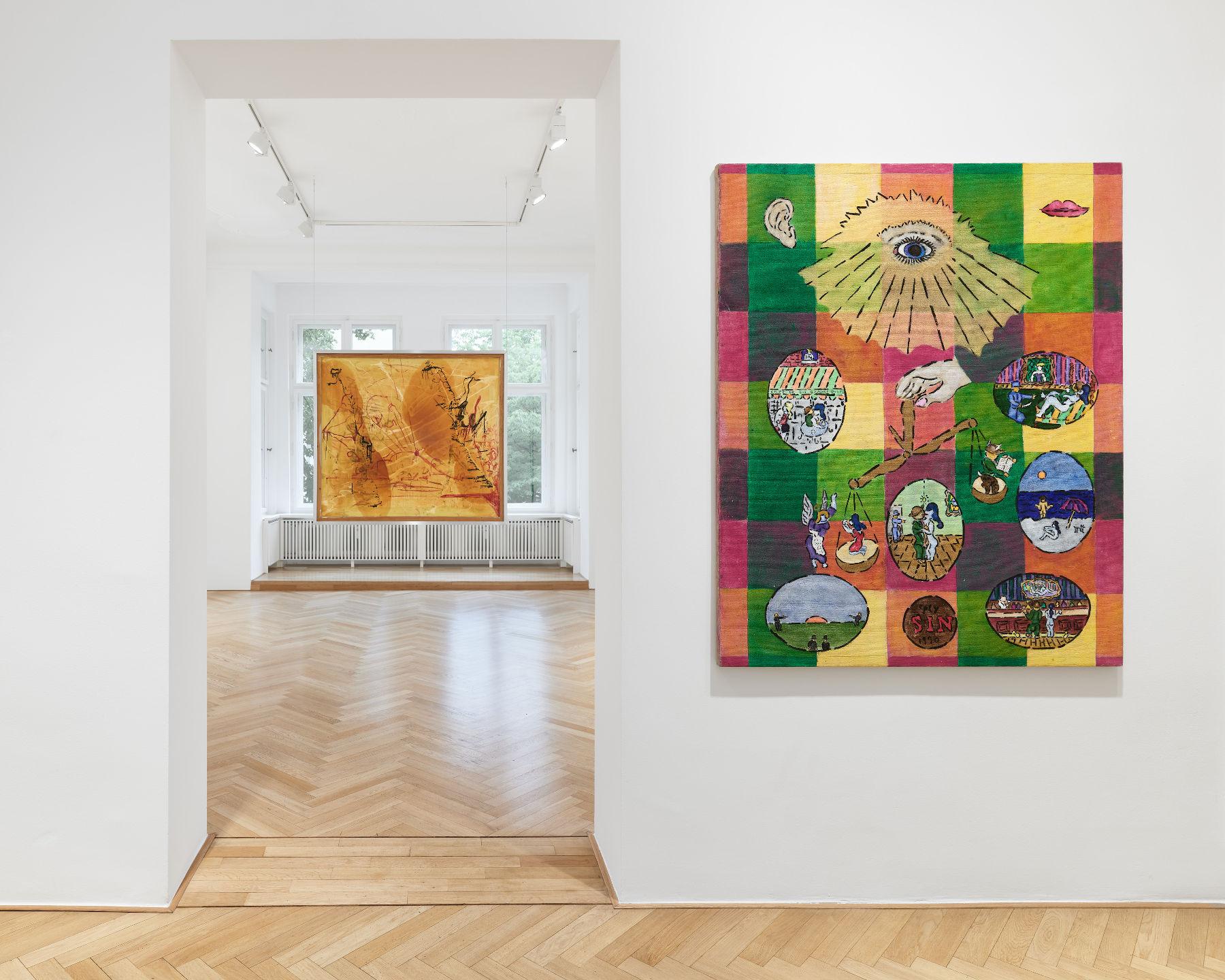 Galerie Max Hetzler Berlin Summer Show 1