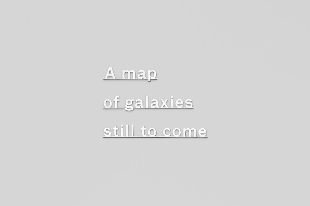 Ideas (A map of galaxies still to come)