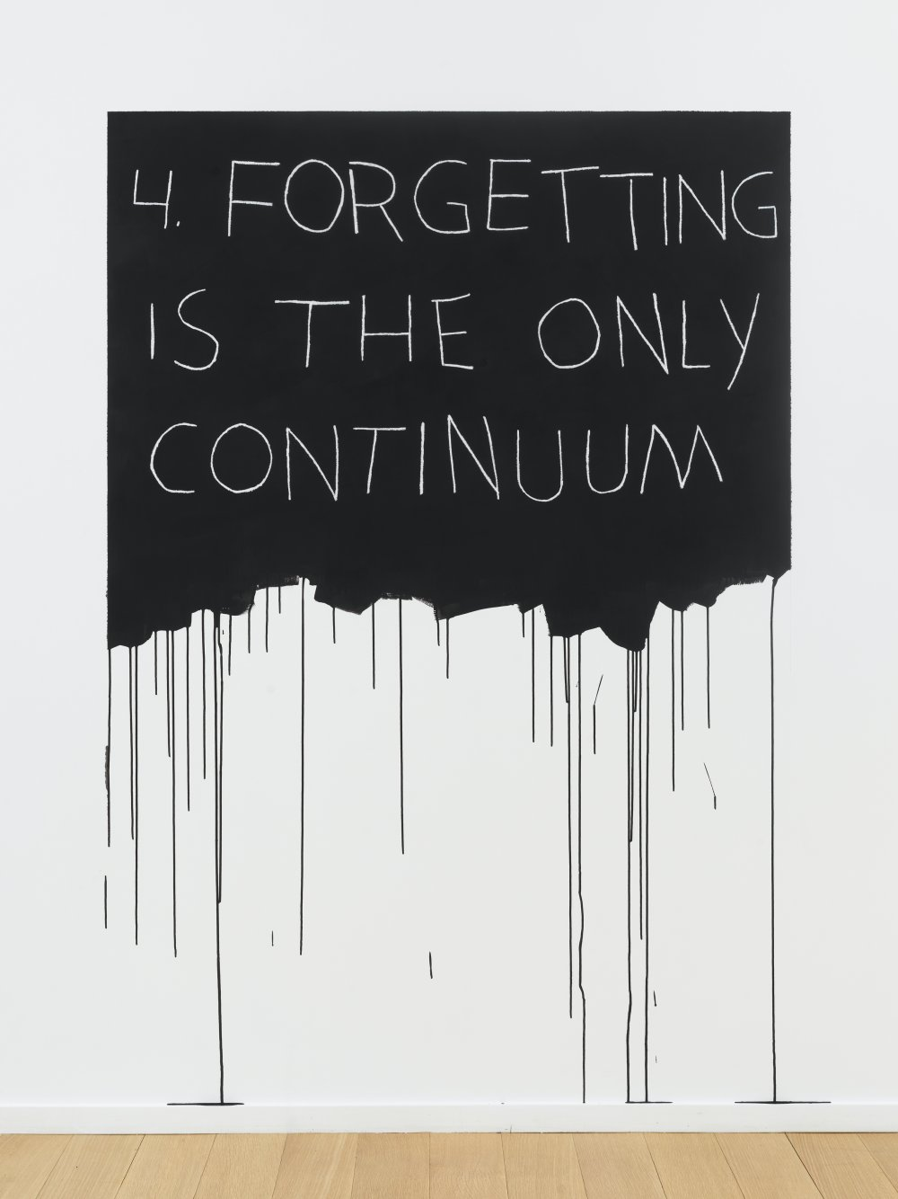 Forgetting Is The Only Continuum