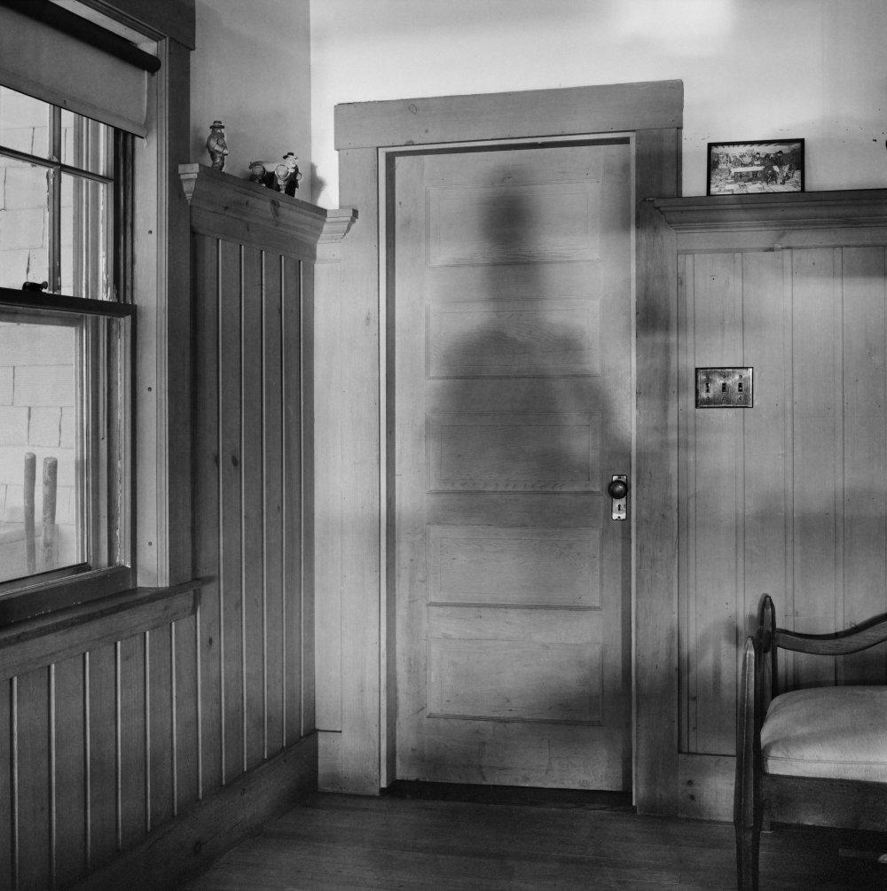 Shadow on Back Door