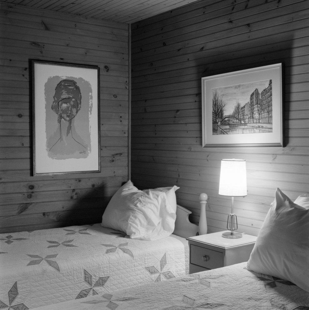 Parent's Bedroom at Night