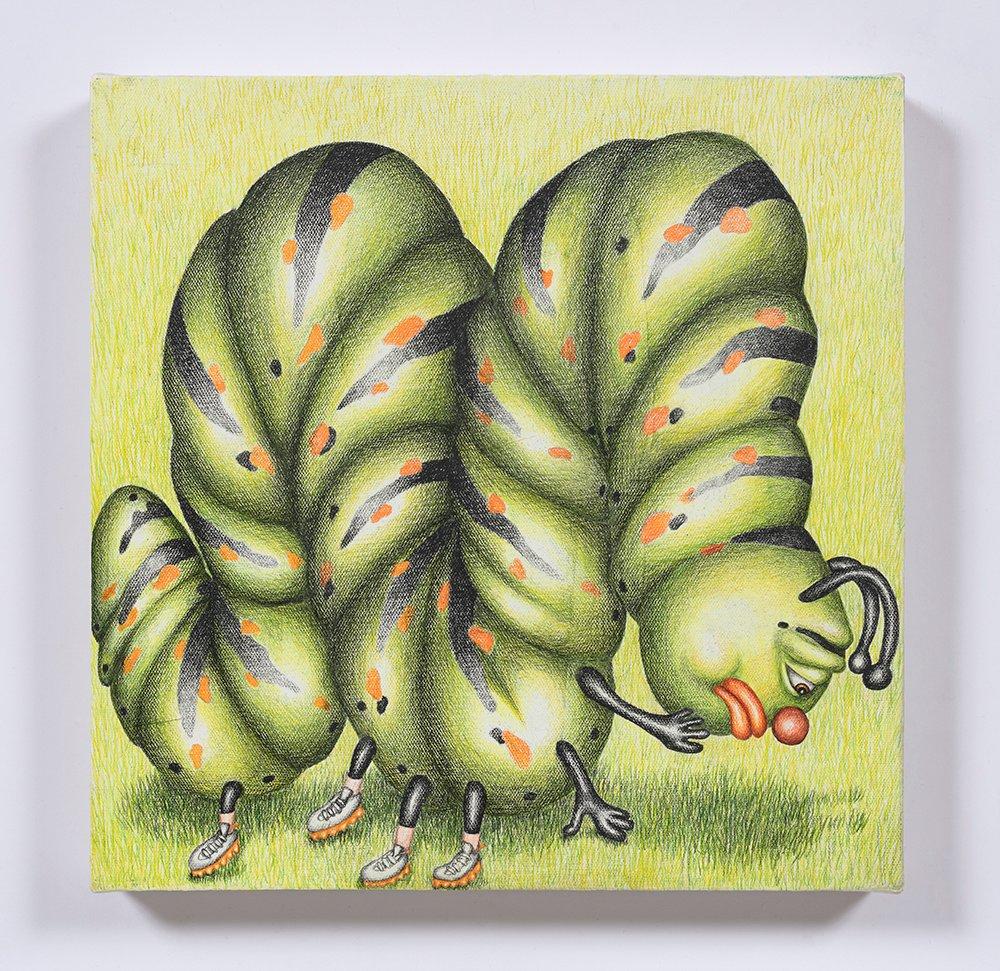 Peepee the Caterpillar Contemplates Mortality