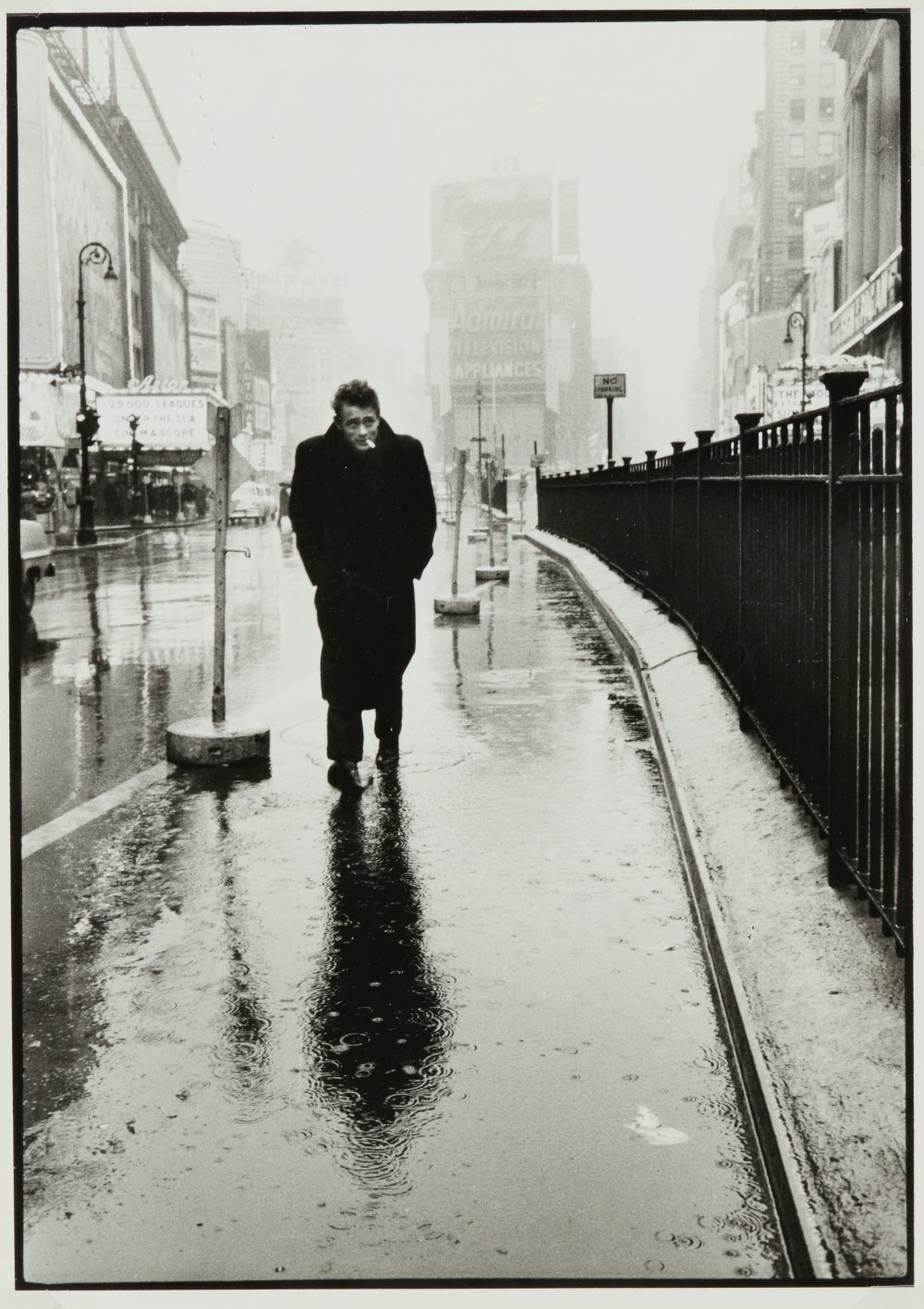 James Dean on Times Square, New York