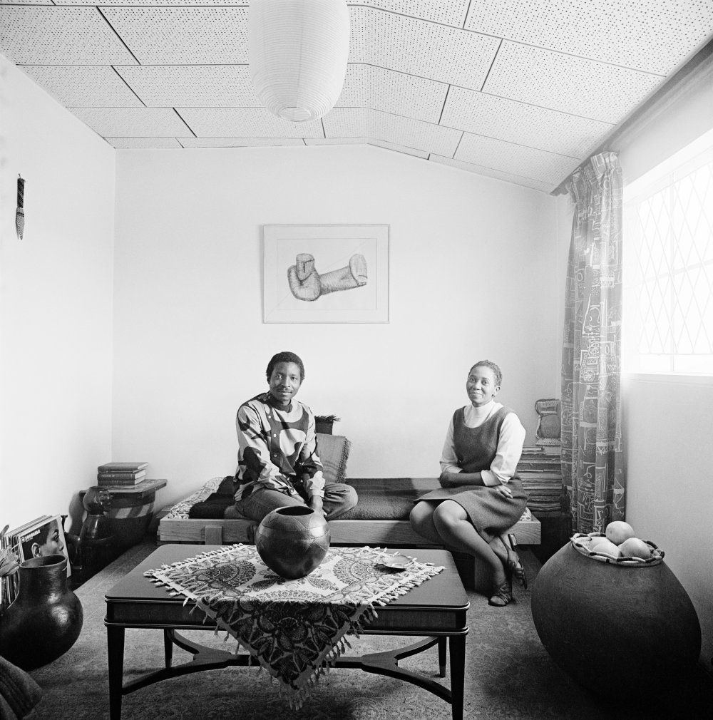 Makana Tshabalala and Ntsiki Kabane, Rockville, Dube, Soweto 1970