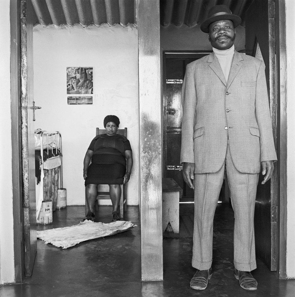 George and Sarah Manyani 3153 Emdeni Extension, Soweto. August 1972