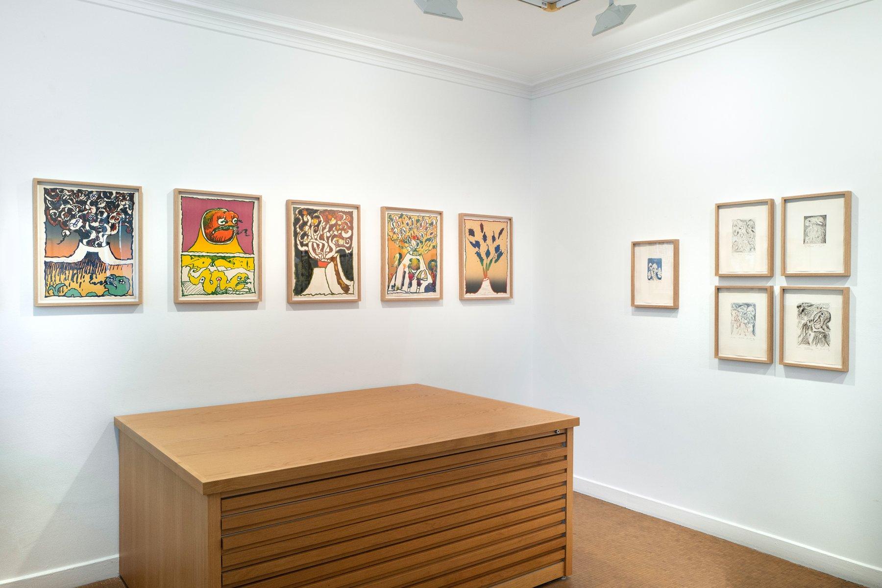 Galerie Lelong Co Pierre Alechinsky 1