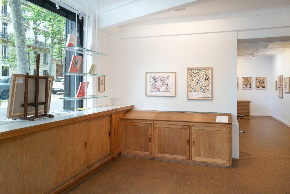 Galerie Lelong Co Pierre Alechinsky 2