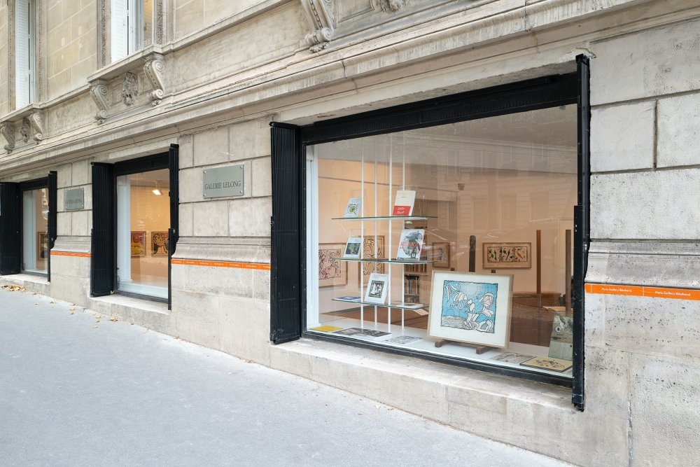 Galerie Lelong Co Pierre Alechinsky 3