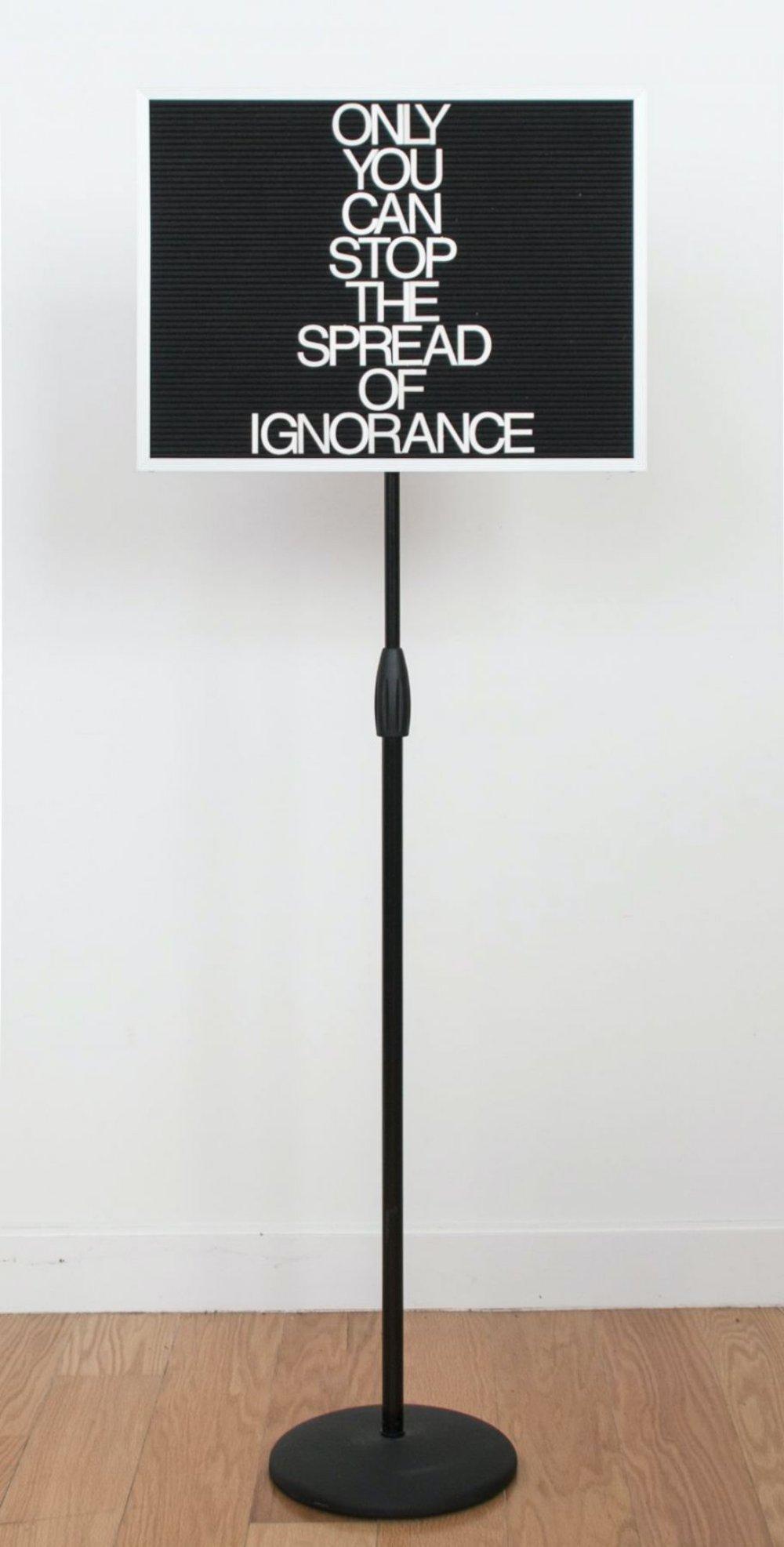 Untitled / Ignorance (Black/Grey)