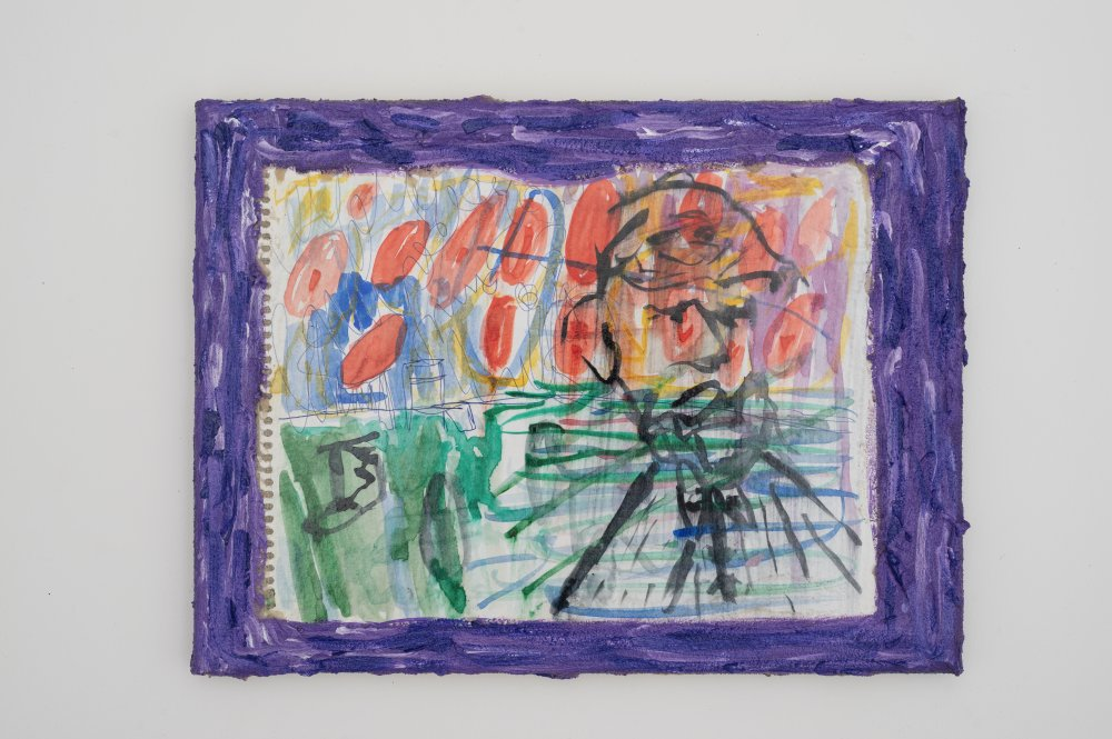 M.Painting / Irrer Maler am Strand 2