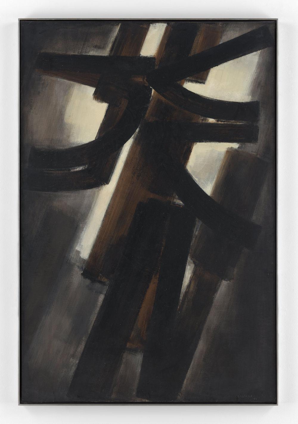 Peinture 195 x 130 cm, 28 juillet 1953