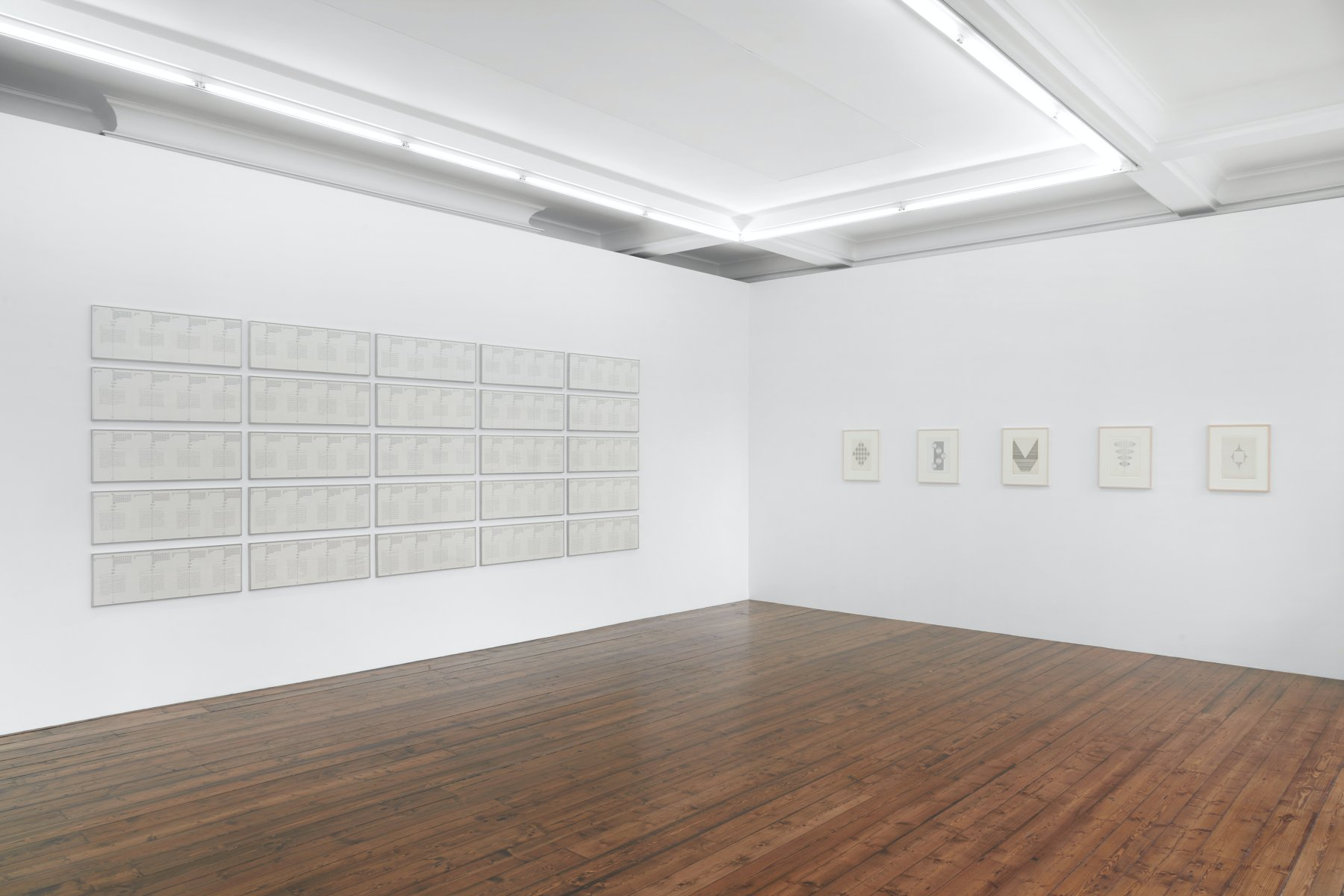 Spruth Magers London Hanne Darboven and Ruth Wolf-Rehfeldt New 1