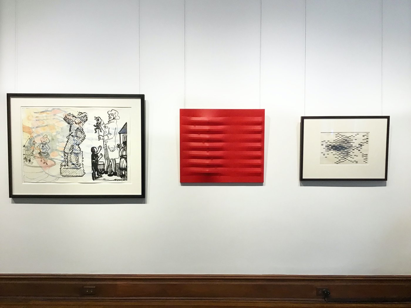 Barbara Mathes Gallery Black, White and Red All Over 2
